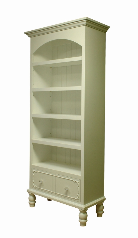Simply Elegant Bookcase By Country Cottage