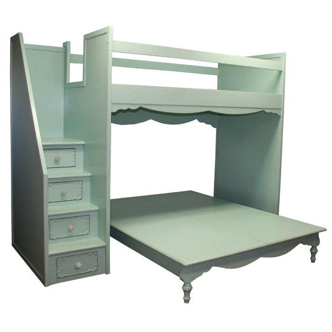Simply Elegant Fantasy Full Over Queen Bunk Bed By Country