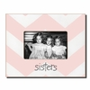 Sisters Chevron Rose Picture Frame