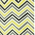 Skinny Chevron Rug in Lemon