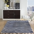 Skinny Chevron Rug in Navy