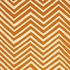 Skinny Chevron Rug in Orange
