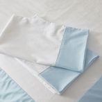 Sky Windowpane Pillowcase Set