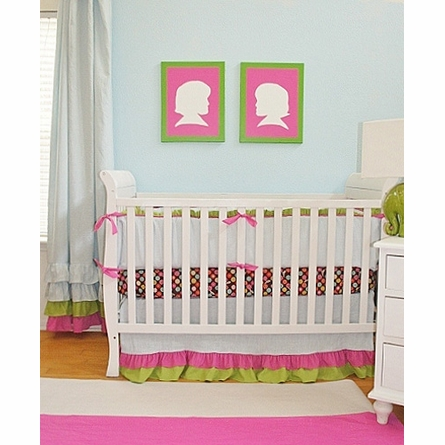 Skyler Crib Bedding - 3 Piece Set