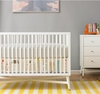 Skyline Canvas Crib Skirt