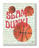 Slam Dunk Wall Plaque