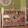 Sleek Slate Crib Bedding Set