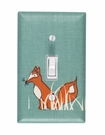 Sly Fox Light Switch Plate Cover
