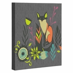 Sly Fox Wrapped Canvas Art