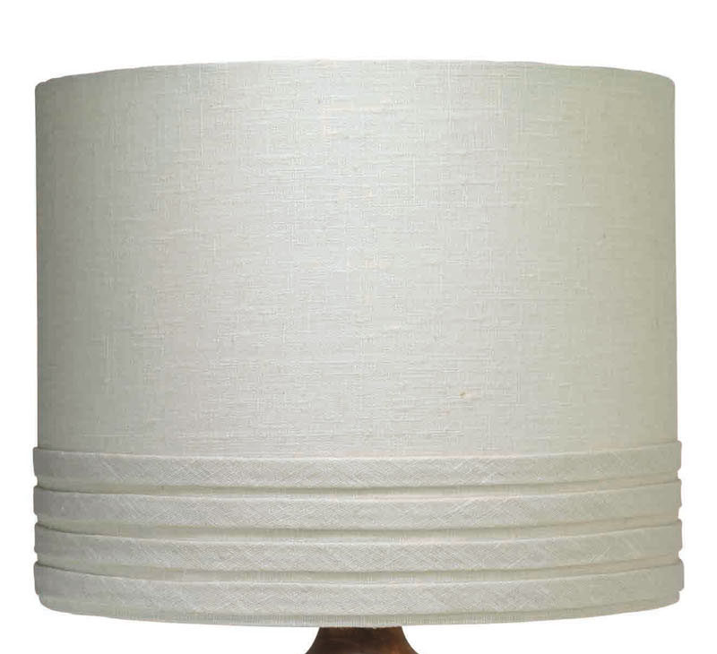 small banded drum lamp shade by jamie young. Black Bedroom Furniture Sets. Home Design Ideas