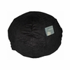Small Beanbag in Black Microsuede