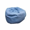 Small Beanbag in Denim