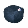 Small Beanbag in Navy Microsuede