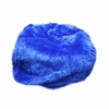 Small Beanbag in Royal Blue Fuzzy Fur