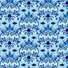 Small Blue Damask Caden Lane Fabric by the Yard