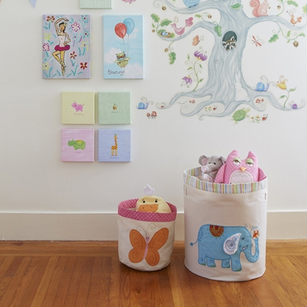 Small Butterfly Storage Bin
