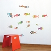 Small Fishes Wall Decal