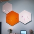 Small Hexagon Magnetic White Board