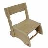Small Natural Windsor Step Stool