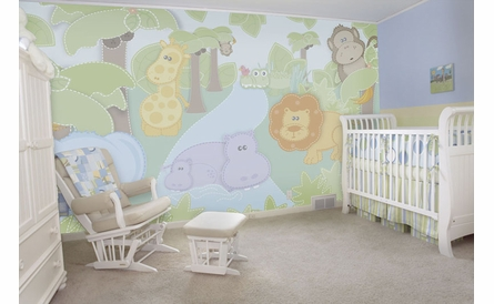 Small Safari Wall Mural