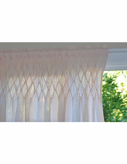 Smocked Curtain Panel