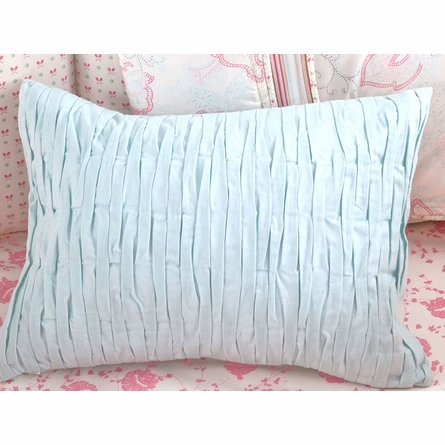 Custom Smocked Throw Pillow