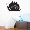 Snail Chalkboard Wall Decal