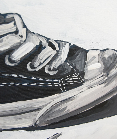 Sneaker Canvas Reproduction