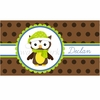 Snow Owl Personalized Placemat