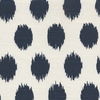 Snowball - Navy Fabric by the Yard