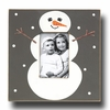 Snowman Flannel Picture Frame