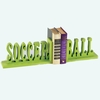 Soccer Ball Letter Bookends