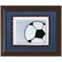 Soccer Ball Personalized Framed Canvas Reproduction