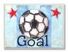 Soccer Goal Wall Plaque
