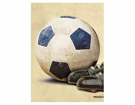Soccer Legends Canvas Reproduction