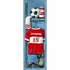Soccer Locker Canvas Wall Art