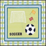 Soccer Sports Canvas Wall Art