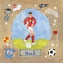 Soccer Star - Boy Canvas Wall Art