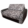 Sofa Sleeper in Black Zebra