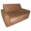 Sofa Sleeper in Brown Microsuede