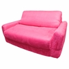 Sofa Sleeper in Fuchsia Microsuede
