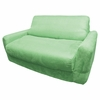 Sofa Sleeper in Green Microsuede