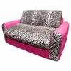 Sofa Sleeper in Pink Leopard