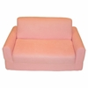 Sofa Sleeper in Pink Microsuede