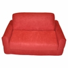 Sofa Sleeper in Red Microsuede