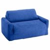 Sofa Sleeper in Royal Blue Microsuede