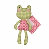 Sofia Frog Softie with Blankie