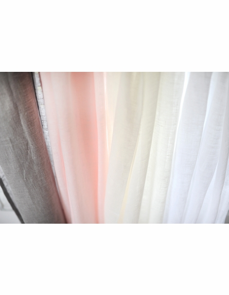 Soft Whisper Linen Curtain Panels - Set of 2