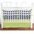 Solid Green Crib Skirt