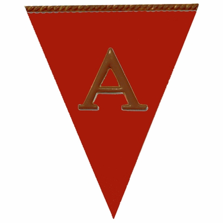 Solid Pennant Plaque